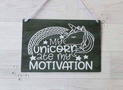 unicorn ate motivation