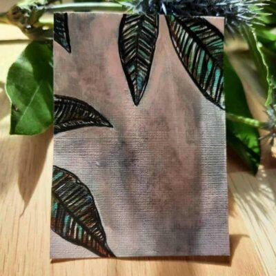 ACEO Leaves