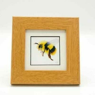 Bee small framed art by Alan Taylor Art