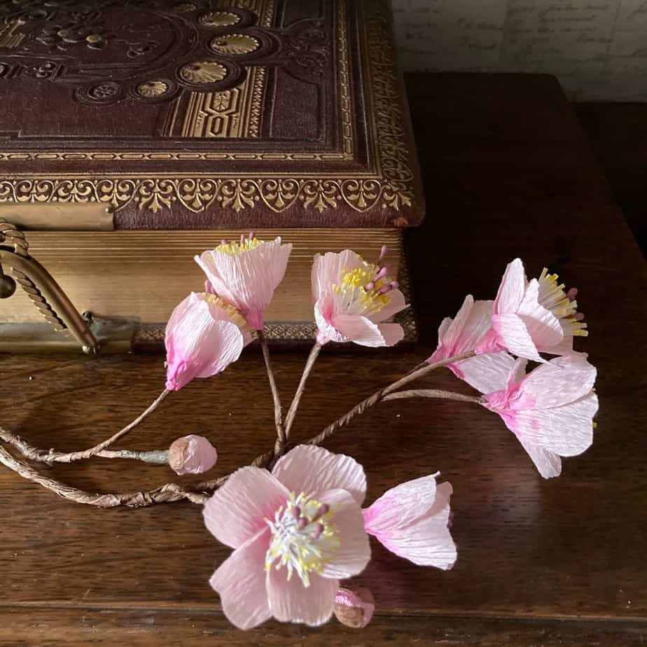 Handmade Paper Blossom
