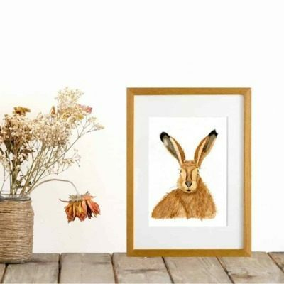 Hare giclee print by Alan Taylor Art