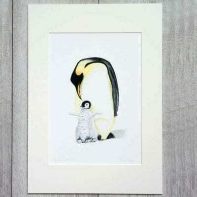 Penguin giclee print by Alan Taylor Art