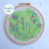 Summer meadow embroidery kit